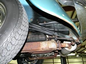 1979 Volkswagen Beetle Karman Convertible