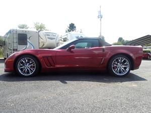 2012 Chevy Corvette Convertible Grand Sport