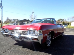 1968 Chevy Impala SS Convertible