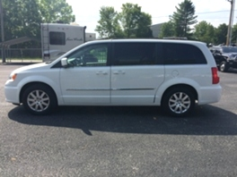 2012 Chrysler Town & Country Van Wagon Touring