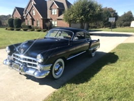 1949 CADILLAC 2 Door Club Coupe