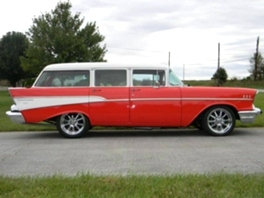 1957 Chevrolet 210 210 Station wagon