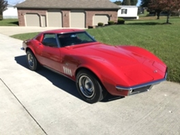 1969 CHEVY CORVETTE