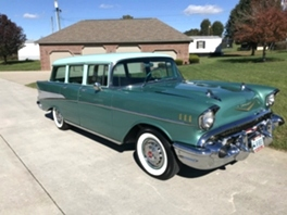 1957 CHEVY BEL AIR 4 DOOR WAGON